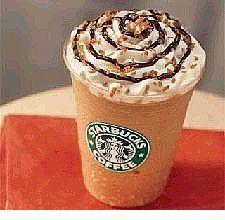 Mocha Coconut Frappuccino.... one of my favorite guilty pleasures :P