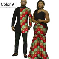 2020 African Print Clothes for Couple Dashiki elegant lady party Dresses and men shirts cotton African Clothing Couples African Outfits, African Wear Dresses, Latest African Fashion Dresses, African Print Fashion, Modern African Clothing, Traditional African Clothing, African Wedding Attire, African Attire, African Print Dress Designs