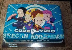 code lyoko cake