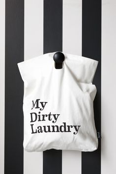 Via Ferm Living | Bathroom | Black and White | My Dirty Laundry Bag