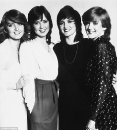 The Nolans: Linda and her sisters (L-R) Coleen, Maureen and Bernie, soared to fame in the ...