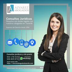 Consultas jurídicas y cita previa. Resuelva sus duda legales con nuestros abogados en Tenerife al instante. https://alvarezabogadostenerife.com/?p=5430