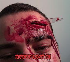 """todotorcido: Tutoriales de """"Como hacer heridas falsas""""- http://www.jugueteriatuyyo.com/disfraces-complementos-para-halloween-halloween-decoracion-c-19_229_238.html"""