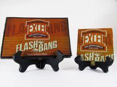 Flash Bang Beer Coaster