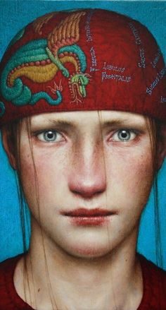 ''INTUS'' 2011, oil on wood 25 x 20 cm. by Dino Valls