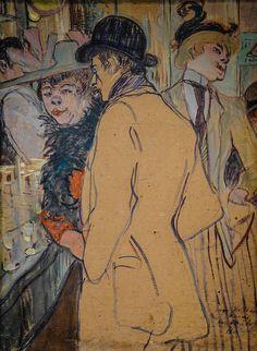 Henri De Toulouse-Lautrec - Alfred la Guigne, 1894 at National Art Gallery Washington DC Henri De Toulouse Lautrec, Henri Rousseau, National Art, National Gallery Of Art, Paul Cezanne, Claude Monet, Renoir, Art Gallery, Giovanni Boldini