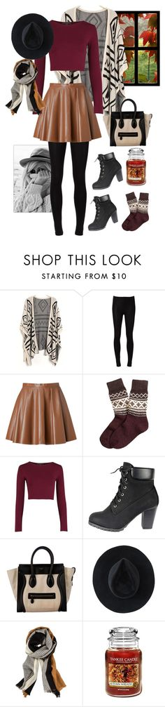 """Always wear what you love"" by raindrop4117 ❤ liked on Polyvore featuring DCI, Majestic Filatures, RED Valentino, Brooks Brothers, CÉLINE, Ryan Roche and Yankee Candle"