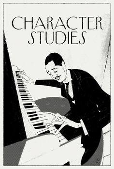 the 40s  —  New Yorker by Simone Massoni, via Behance