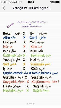 Learn Turkish Language, Arabic Language, English Language Learning, Language Lessons, Turkish Lessons, English Vinglish, French Education, Free Books Online, Learning Arabic