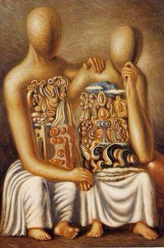 "Giorgio de Chirico, ""The Consoler"", 1929 Artist Painting, De Chirico, Art Painting, Artist Inspiration, Surreal Art, Metaphysical Art, Painting, Art, Italian Artist"