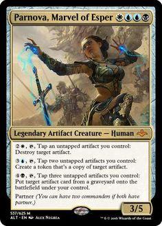 Parnova, Marvel of Esper mtg-philocalist