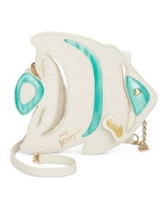 Betsey Johnson Fish Crossbody -(Cute for a day at the beach)-
