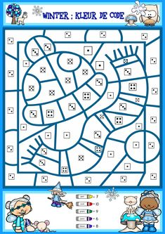 Kindergarten Design, Teaching Kindergarten, Cicely Mary Barker, Busy Boxes, Math School, Teacher Cards, Early Math, Disney Coloring Pages, Winter Sports