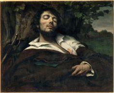 Gustave Courbet   L'homme blessé   Images d'Art