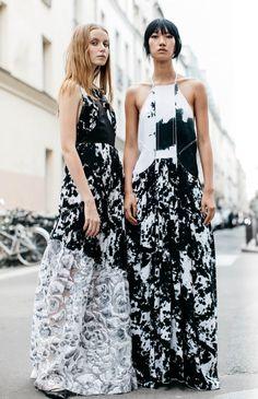 нарядное летнее платье с американской проймой - тренд 2017 года
