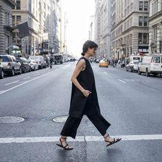 Eileen Fisher Organic Cotton Sleeveless Dress, Eileen Fisher Wide Leg Pant S2017