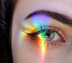 School Hairstyles 82683343144626669 - Rainbow Eyes Source by KaSeeStyLe Gay Aesthetic, Aesthetic Eyes, Rainbow Aesthetic, Artist Aesthetic, Rainbow Photography, Eye Photography, Creative Photography, Pretty Eyes, Cool Eyes