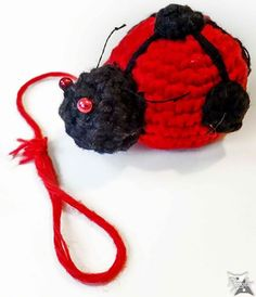 I'm a mixed-media artist based on Switzerland, mainly inspired by nature and fantasy art. Mixed Media Artists, Ladybug, Fantasy Art, Christmas Ornaments, Holiday Decor, Crochet, Crafts, Inspiration, Amigurumi