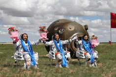 Shenzhou 10 mission accomplished!