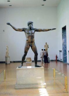 Poseidon statue, Athens Museum