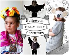 These costumes are cute, creative, and -- best of all -- easy to make!