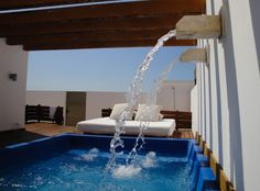 Excellence Playa Mujeres - 2010 - Amazing private deck and dipping pool - to celebrate our 15 year anniversary.