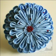 Talks about the book Kanzashi in Bloom. Plus a couple of links to tutorials - if you read through the post