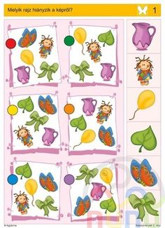 Logico feladatok Ovisoknak - Katus Csepeli - Picasa Webalbumok Montessori Activities, Book Activities, Toddler Activities, Preschool Activities, Visual Perception Activities, Cognitive Activities, Mickey Coloring Pages, File Folder Activities, Kids Corner