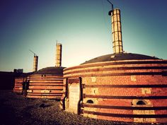 A photo set of the historic Medalta Potteries site in Medicine Hat, Alberta. Photography by Luke Fandrich. Gas City, Historical Sites, Monument Valley, Places Ive Been, Brick, Medicine, Places To Visit, Pottery, Tours