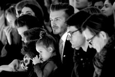 Spotted on the front row at New York Fashion Week: a  Beckham family outing to watch Victoria Beckham's show http://www.theweek.co.uk/pictures/57254/new-york-fashion-week-2014-pictures/page/1/0#main-content-area