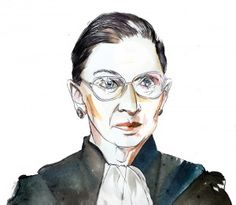 ruth bader ginsburg illustration - Google Search