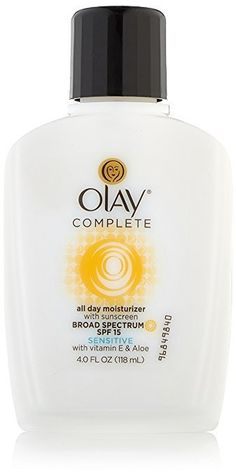 Amazon Has Olay Complete All Day Moisturizer With Sunscreen Broad Spectrum SPF 15 - Sensitive 4 fl. Oz For $4.3... #LavaHot http://www.lavahotdeals.com/us/cheap/amazon-olay-complete-day-moisturizer-sunscreen-broad-spectrum/160637?utm_source=pinterest&utm_medium=rss&utm_campaign=at_lavahotdealsus