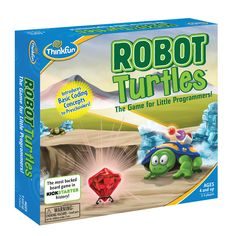 Robot Turtles: het bordspel dat driejarigen leert programmeren - WANT Turtle Games, Robot, Preschool Board Games, Preschool Toys, Kid Activities, Teaching Programs, Best Educational Toys, Daily Five, Computer Programming