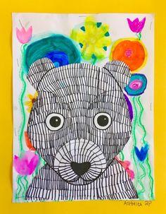 SPRINGTIME BUNNIES AND BEAR CUBS- 2ND GRADE! – Art with Mrs Filmore