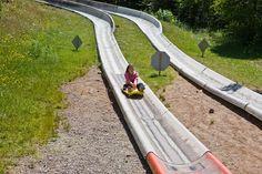 alpine slide-lutsen, mn  :)