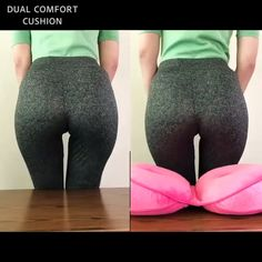 Faltbares Dual Comfort Cushion Lift Hips Up Sitzkissen - Gesundheit - Fitness Health And Beauty Tips, Health And Wellness, Health Fitness, Beauty Guide, Mental Health, Hip Ups, Cool Inventions, Useful Life Hacks, Healthy Tips
