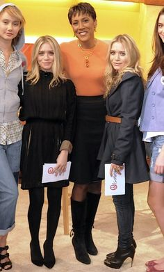 Olsens Anonymous Blog Mary Kate And Ashley Good Morning America Trench Coat Denim Long Wavy Hair Black Pleated Dress Event Show photo Olsens-Anonymous-Blog-Mary-Kate-And-Ashley-Good-Morning-America-Trench-Coat-Denim-Long-Wavy-Hair-Black-Pleated-Dress-Suede-Pumps-Platfor.jpg