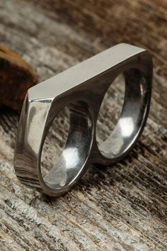 This double-finger ring is so trendy. Vitaly has the best jewelry to add so much style to any wardrobe