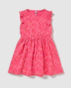 Vestido de niña Freestyle en rosa con corazones Freestyle, Moda Online, Peplum, Eye, Summer Dresses, Image, Women, Fashion, Pink