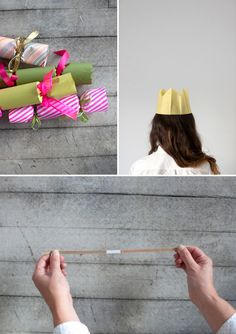 I've always wanted to do this!    DIY Christmas Crackers via Oh Happy Day