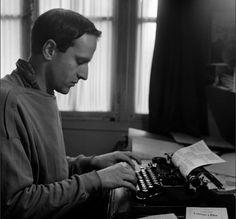 Boris Vian in writing.