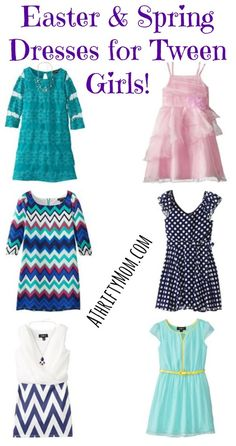 Easter and Spring Dresses for Tween Girls On Sale - AThriftyMom