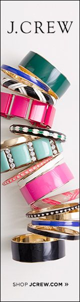 Who knew J Crew had such beautiful bangles!