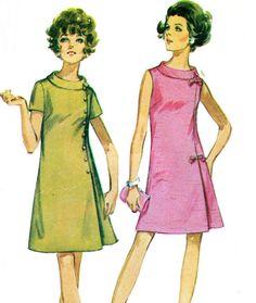 1960s Dress Pattern Simplicity 8159 Plus Size by paneenjerez, $12.00