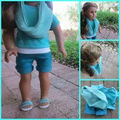 Blue Mist Outfit by ElegantBasics on Etsy, $13.50