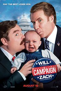 The Campaign - 08.10.12 Will Ferrell, Zach Galifianakis and Jason Sudeikis...seriously?! this is awesome :)
