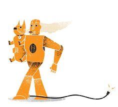 Elektro & Sparko by James Olstein