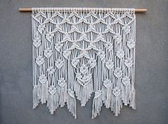 Hey, I found this really awesome Etsy listing at https://www.etsy.com/listing/483002198/40-large-macrame-wall-hanging-large