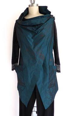 Katherine Tilton's rectangle vest Butterick 6064. Hmmmm.....