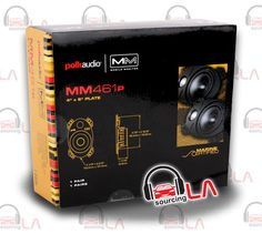 "Sourcing-LA: POLK AUDIO MM461P 4""X6"" 2-WAY MARINE MOBILE MONITO..."